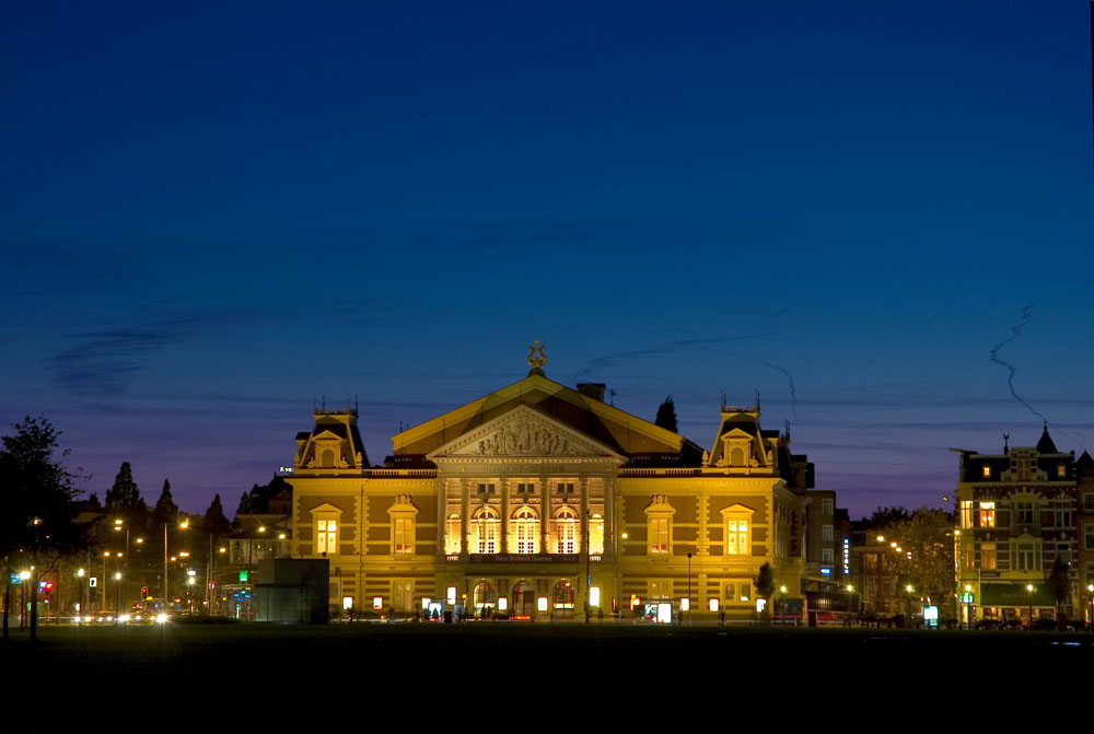 The Concertgebouw in Amsterdam - Photo: Leander Lammertink