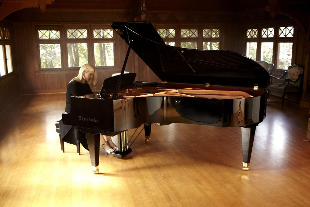 Valentina Lisitsa, one of the most viewed musicians on the internet - Photo: Sam Jones