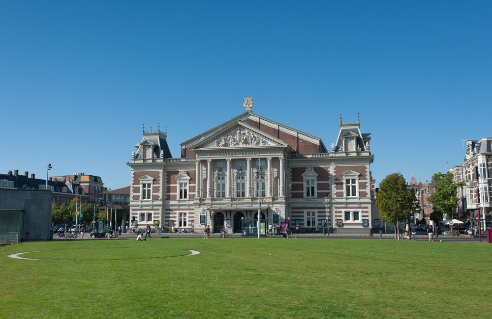 The Concertgebouw was commissioned in 1882 and designed by Adolf Leonard van Gendt - Photo: Leander Lammertink