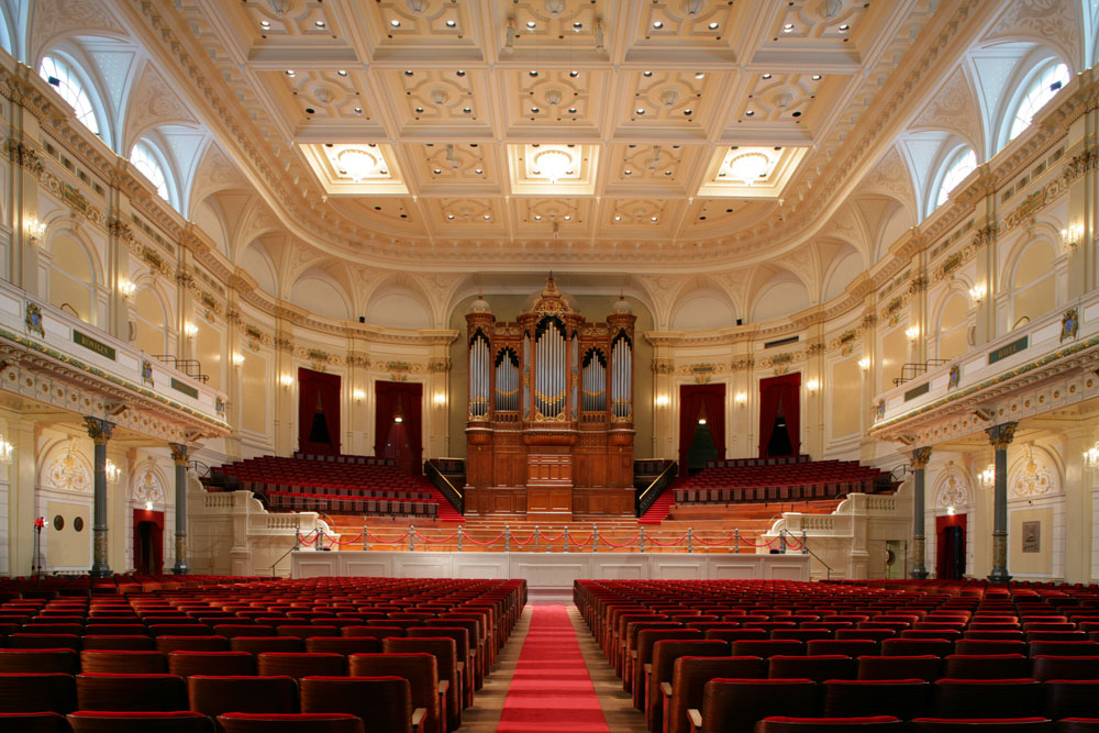 The Main Hall of the Concertgebouw - said to have the finest acoustics in the world - Photo: Fred George