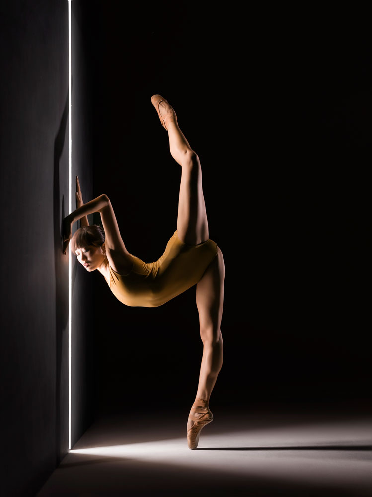 Yujin Kim, one of LINES Ballet's extraordinarily talented dancers - Photo: RJ Muna