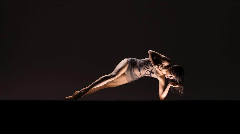 LINES Ballet's Yujin Kim - Photo:  RJ Muna