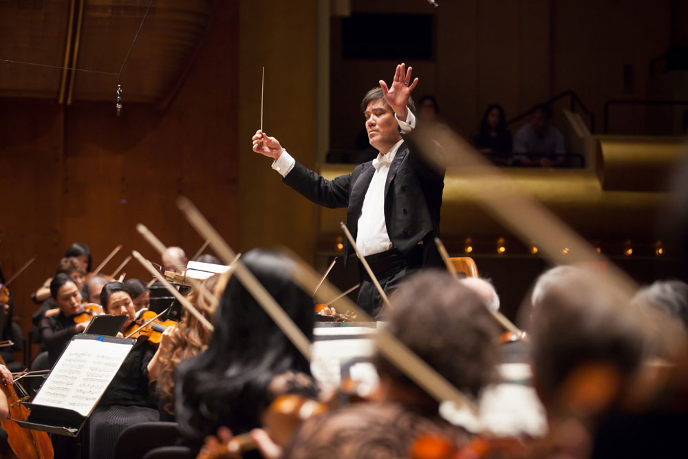 Music Director of the New York Philharmonic, Alan Gilbert Credit:  Chris Lee