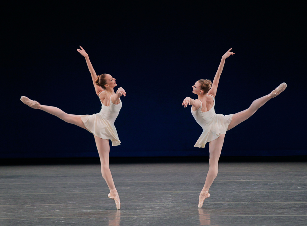 1-Maria-Kowroski-and-Sara-Mearns-performing-in-George-Balanchine's-Concerto-Barocco.-Photo-credit-Paul-Kolnik
